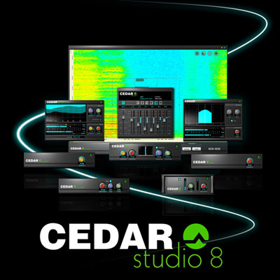 Announcing CEDAR Studio 8™ - world-beating noise suppression and
