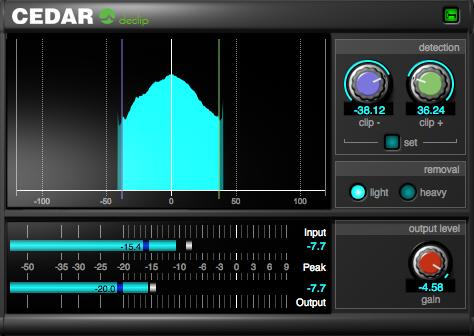 CEDAR Audio Ltd | CEDAR Studio Restore