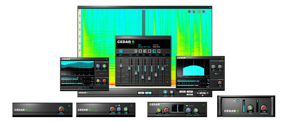 CEDAR Audio Ltd   CEDAR Studio 8™